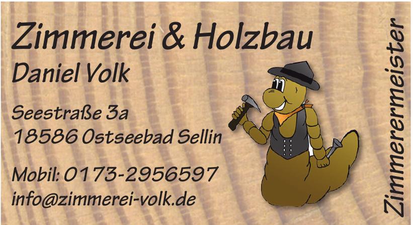 Zimmerei & Holzbau Daniel Volk