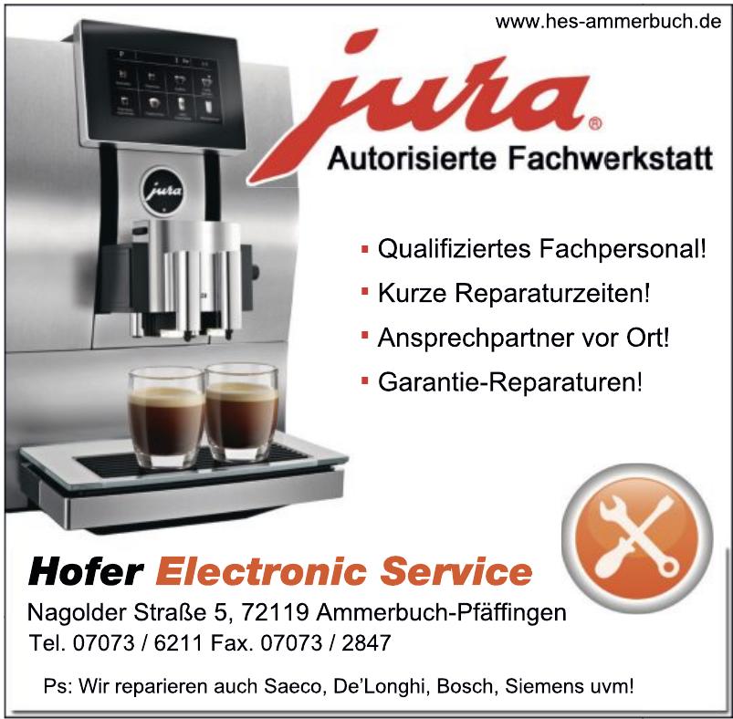 Hofer Electronic Service